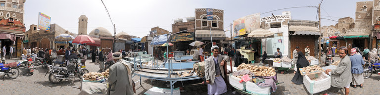 Bread Suq, Sana'a, Yemen, by Stefan Geens