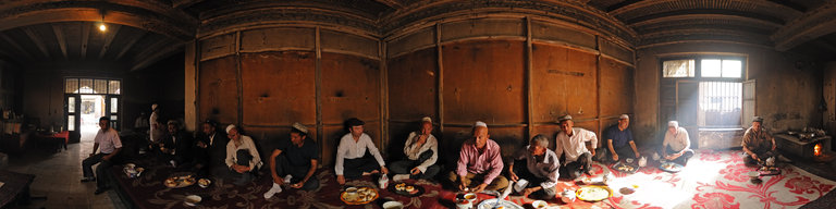 Breakfast in Kashgar by Stefan Geens
