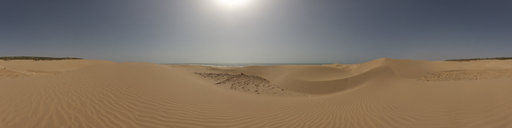 4 Sand dunes in Essaouira, Morocco