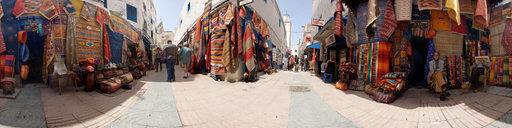 4 Rugs in Essaouira, Morocco