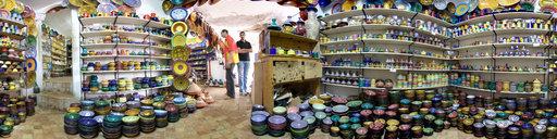 4 Pottery in Essaouira, Morocco