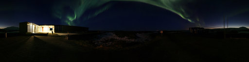 4 Northern Lights Outside Information Office