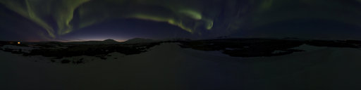 4 Northern Lights at Þingvellir national park