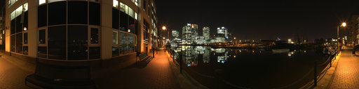 4 View of Canary Wharf