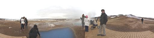 4 Geothermal Pools at Geysir